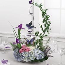 Butterfly Reception Centerpiece