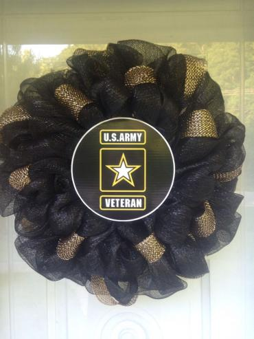 Silk Army Wreath